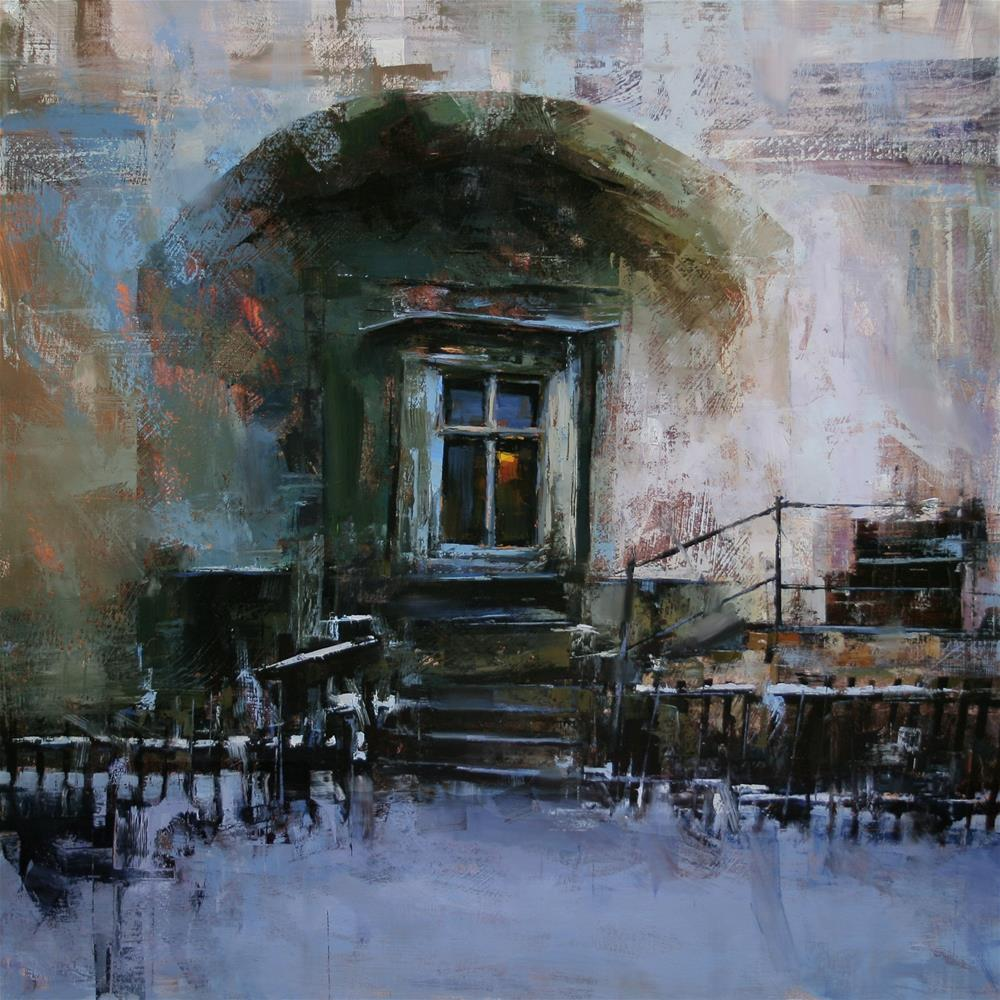 """Evening Prayer"" original fine art by Tibor Nagy"