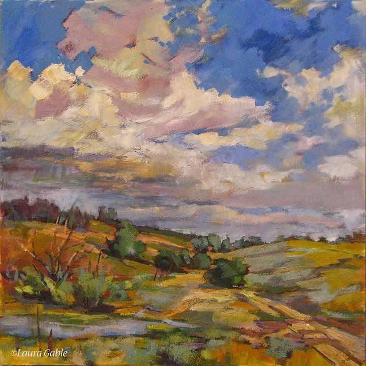 """After the Rains"" original fine art by Laura Gable"