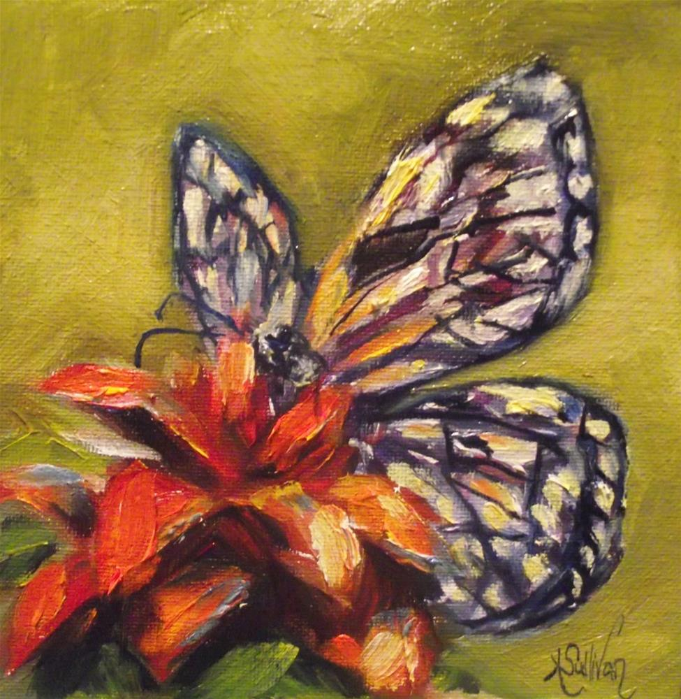 """Spreading Her Wings by Angela Sullivan"" original fine art by Angela Sullivan"
