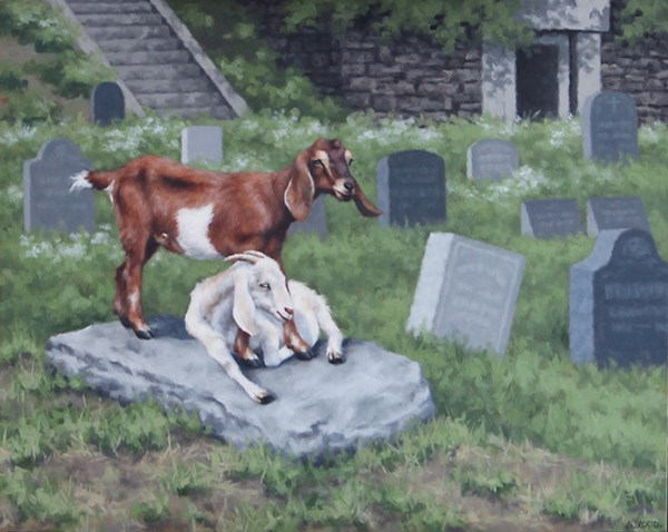 """Lost and Found II"" original fine art by Sarah Becktel"