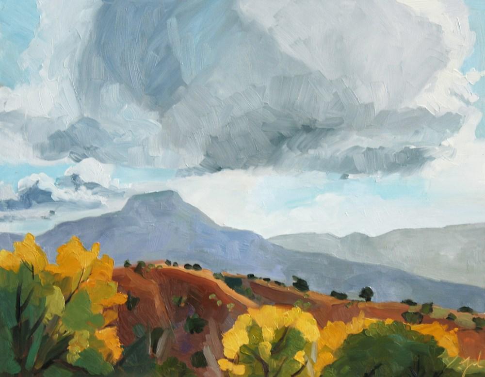 """Pedernal"" original fine art by Jessie Dodington"