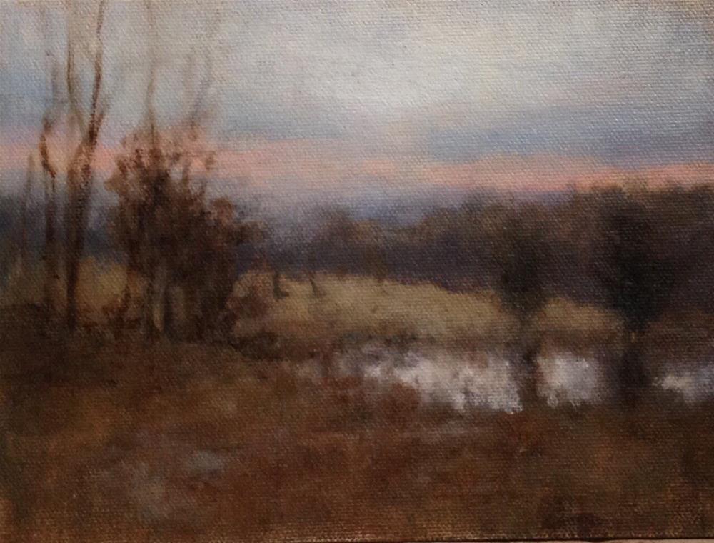 """Spring Melt"" original fine art by Dj Laurienzo"