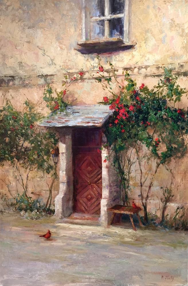 """""""Spring Bliss"""" original fine art by Barbara Fluty"""