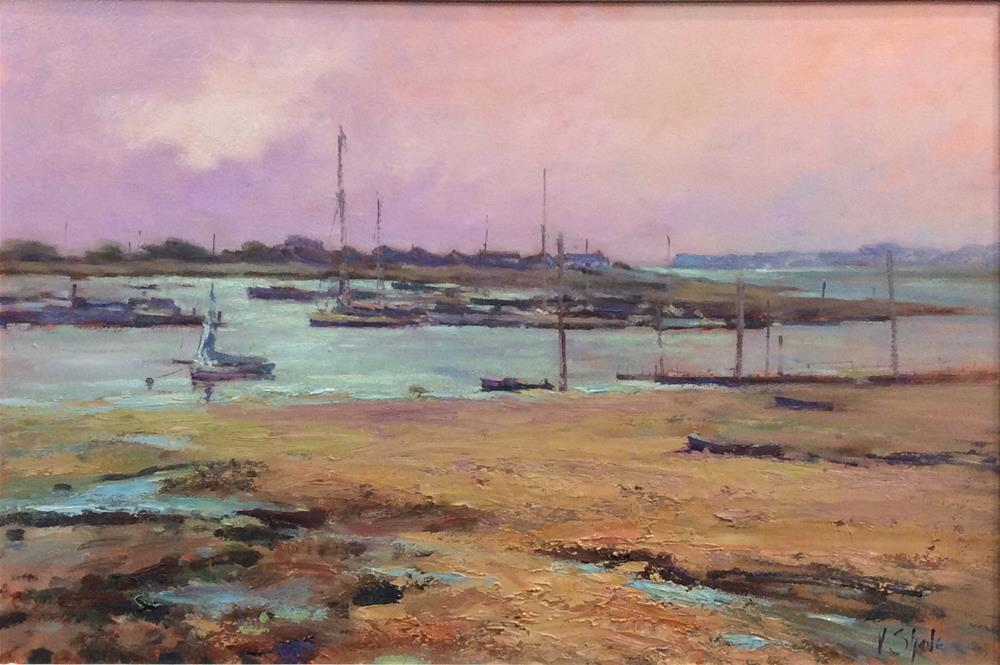 """Late Afternoon Brightlingsea"" original fine art by John Shave"