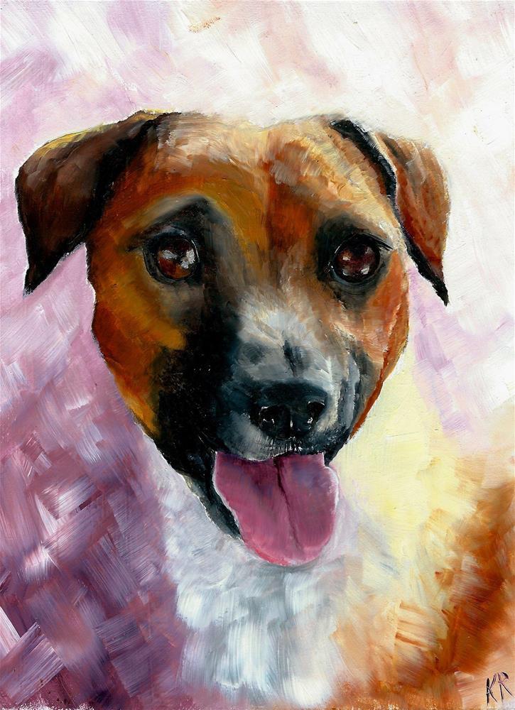"""""""In the Pink"""" original fine art by Karen Robinson"""