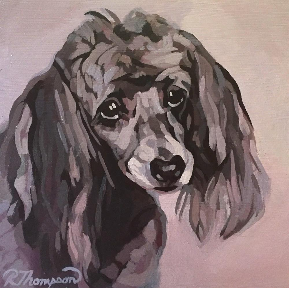 """Lili"" original fine art by Rachel Thompson"