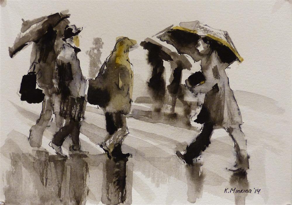 """urban30"" original fine art by Katya Minkina"