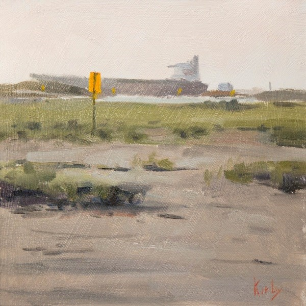 """Flats at East Beach"" original fine art by Randall Cogburn"