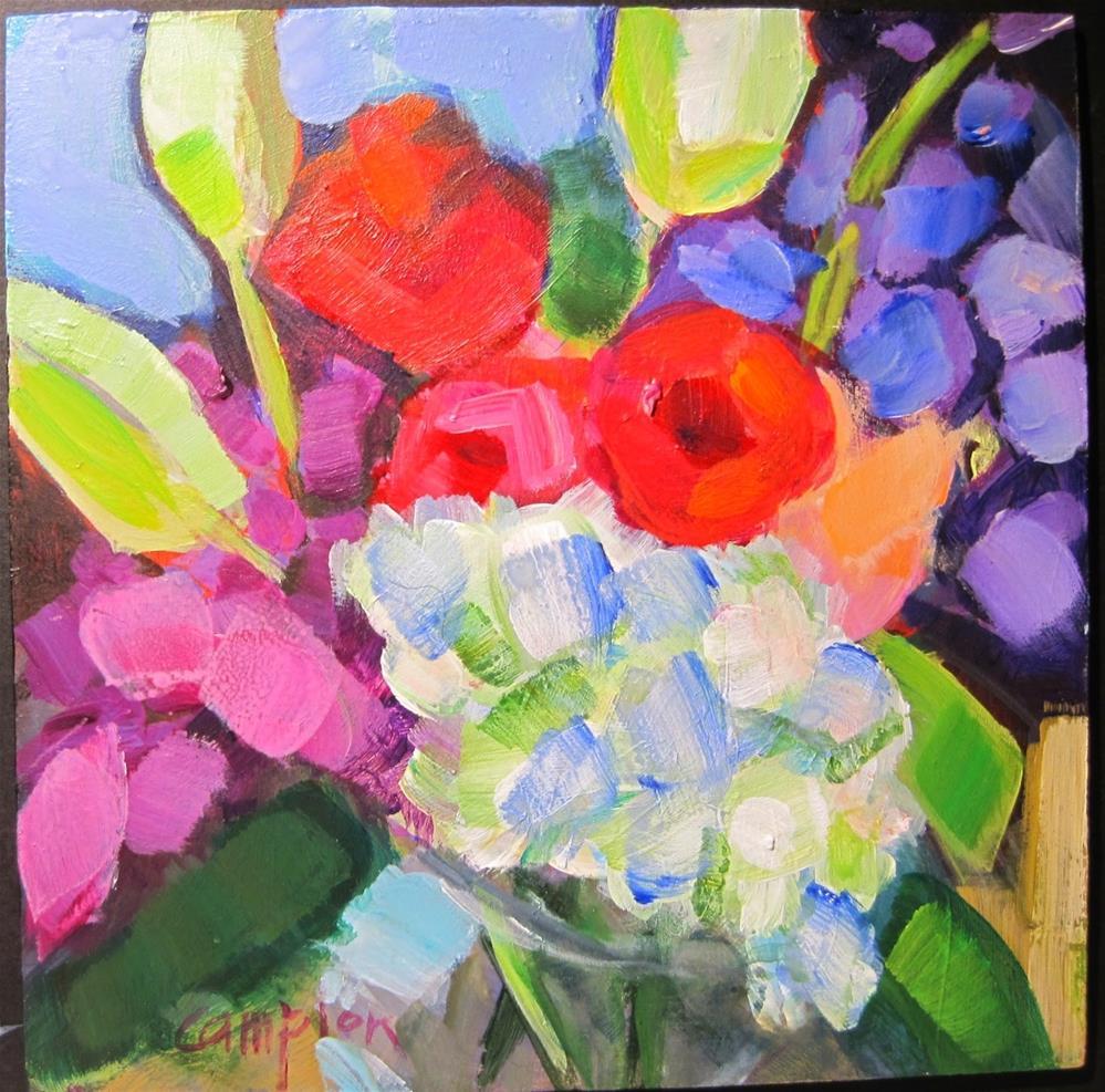"""""""324 Empower"""" original fine art by Diane Campion"""