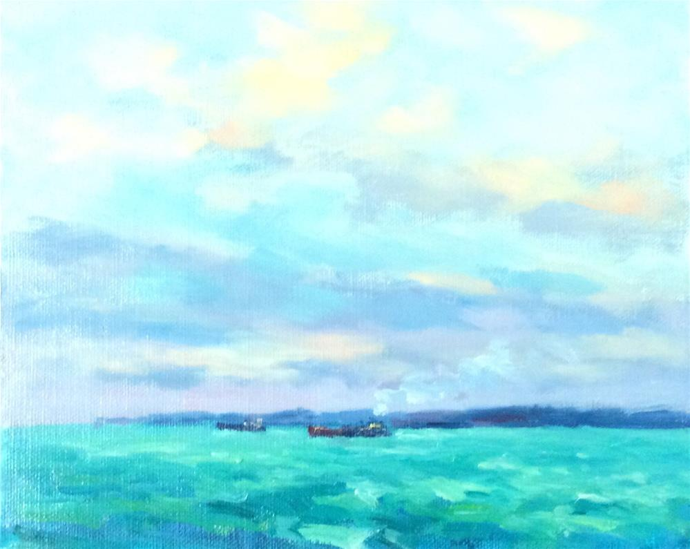 """All At Sea"" original fine art by John Shave"