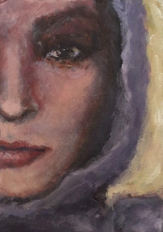 """Layla"" original fine art by Melissa Gresham"