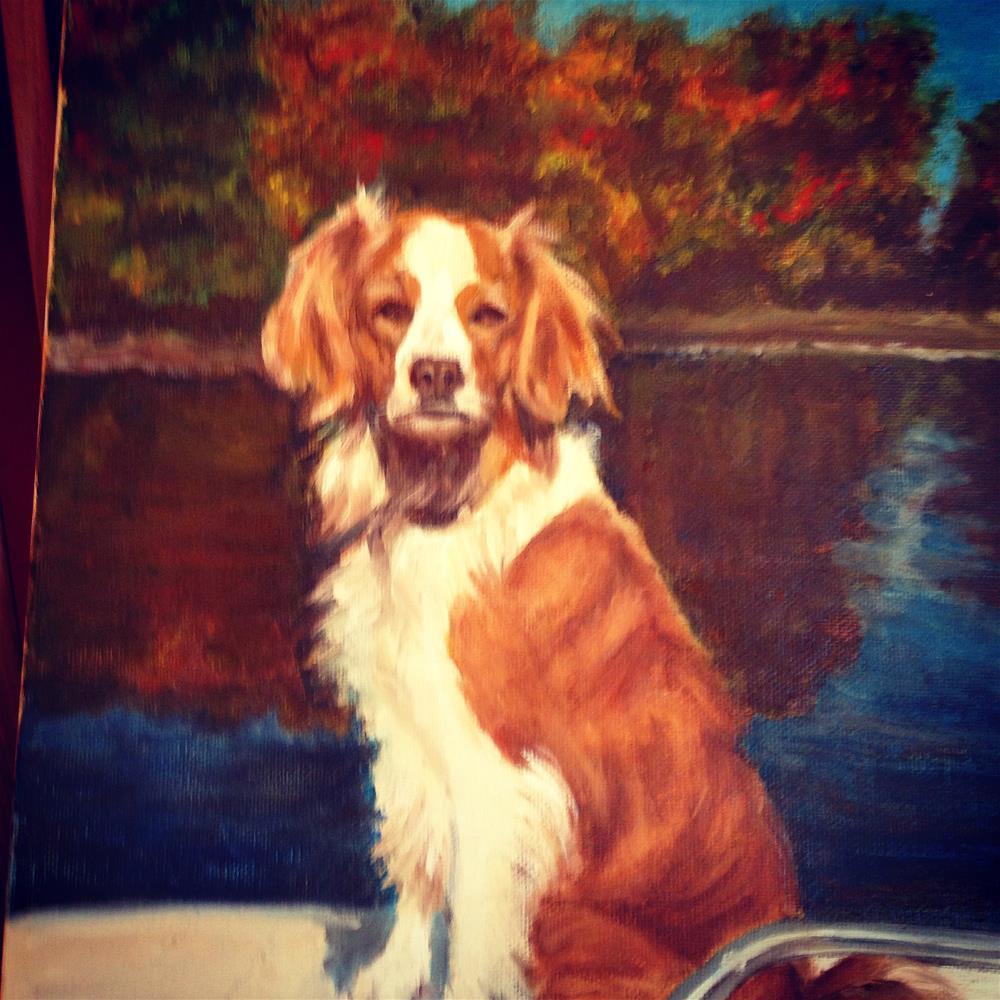 """""""Ryder"""" original fine art by Michelle Linnihan"""