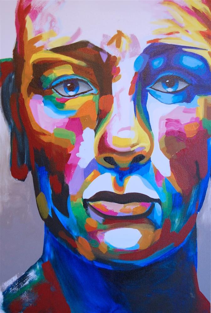 """""""color contact 3"""" original fine art by michael vigneux"""
