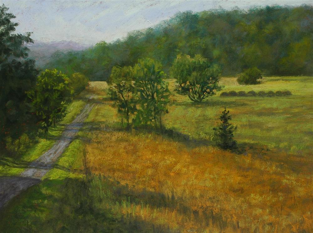"""Late Summer, Late in the Day"" original fine art by Susan Klabak"