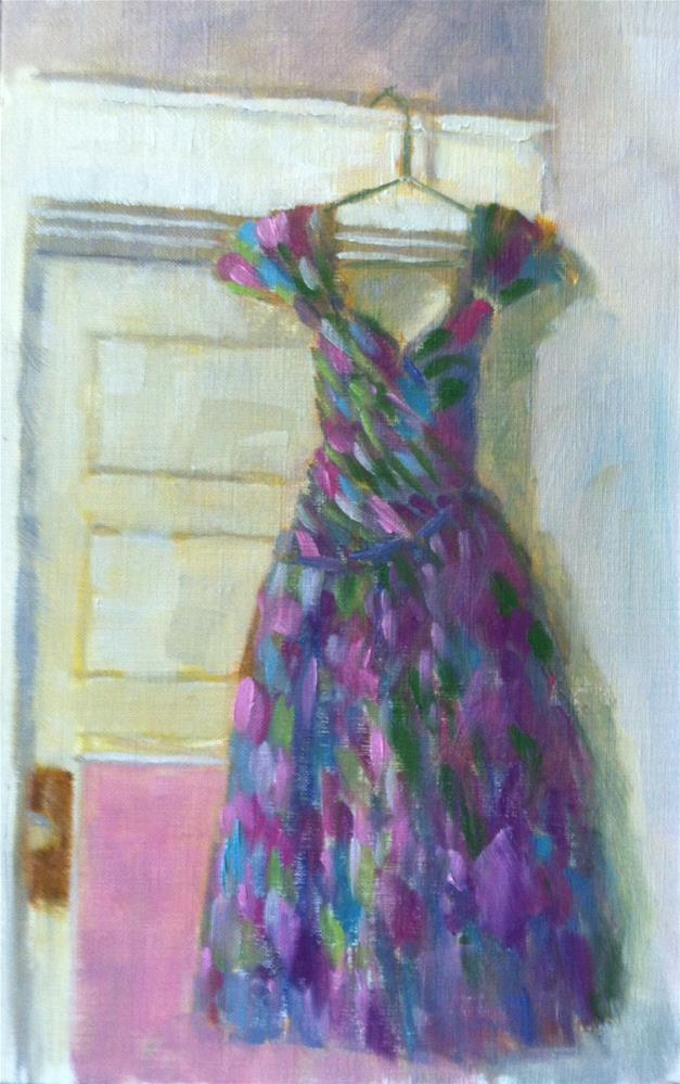 """Party Dress Challenge"" original fine art by Katharine March"