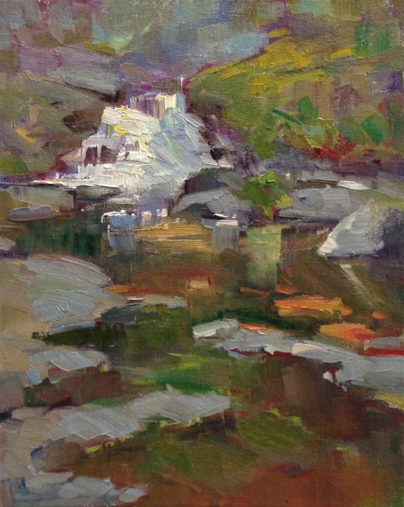 """Ain't She a Sweet Creek"" original fine art by Patti McNutt"