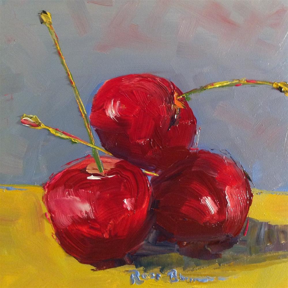 """The Bings"" original fine art by Rose Brenner"