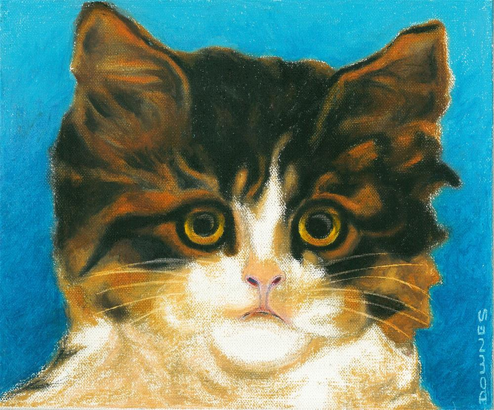 """140 CAT 5 LITTLE FEAR"" original fine art by Trevor Downes"