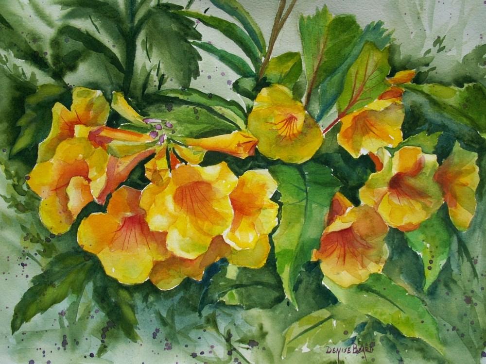 """""""Esperanza"""" original fine art by Denise Beard"""