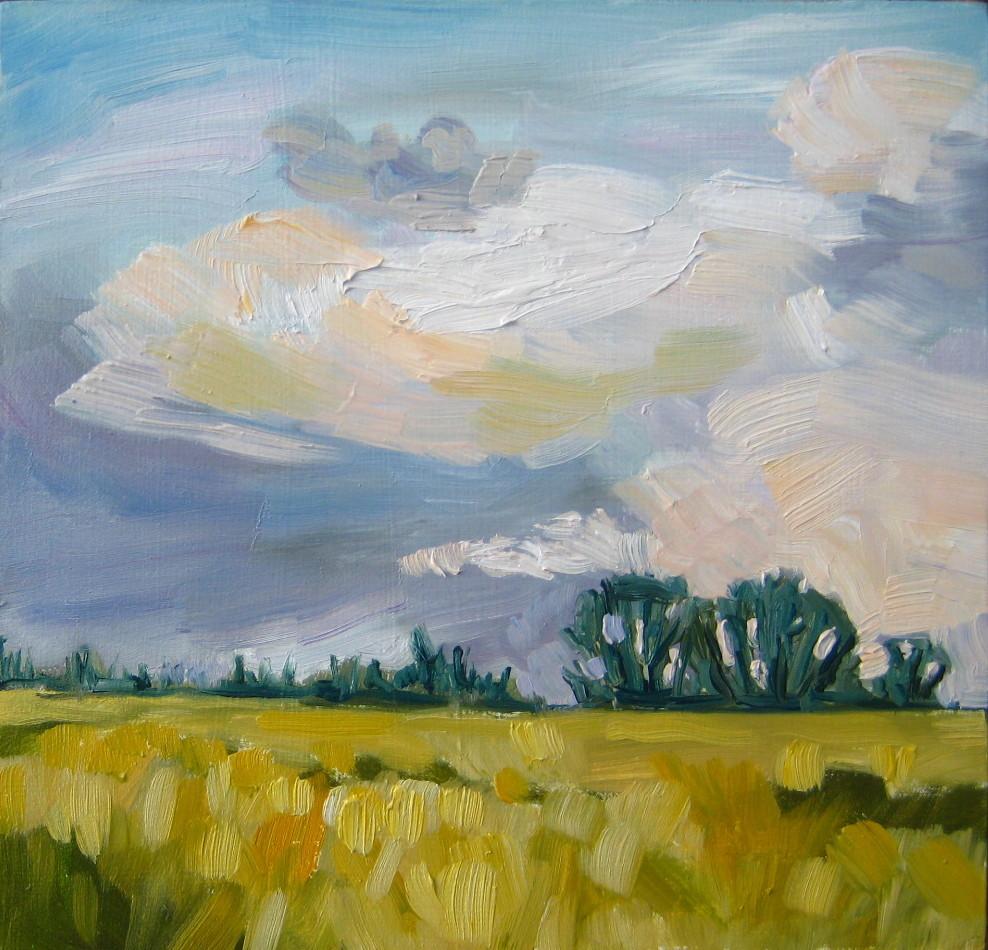 """Soft Spring Day"" original fine art by Nicki Ault"
