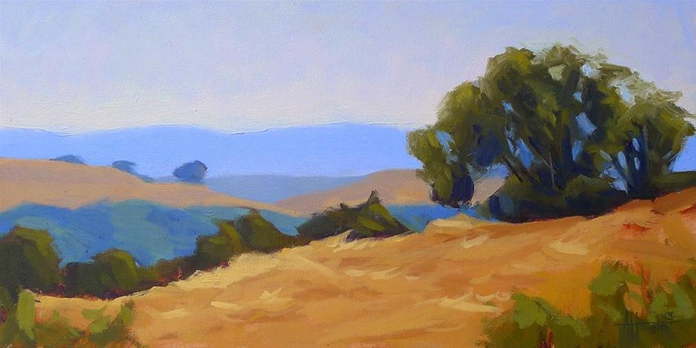"""Napa Hills"" original fine art by Adam Houston"