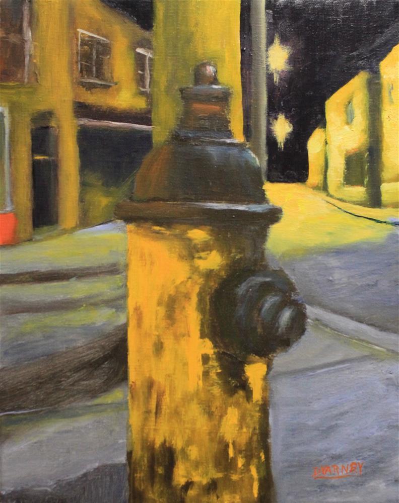 """The Hydrant"" original fine art by Daniel Varney"
