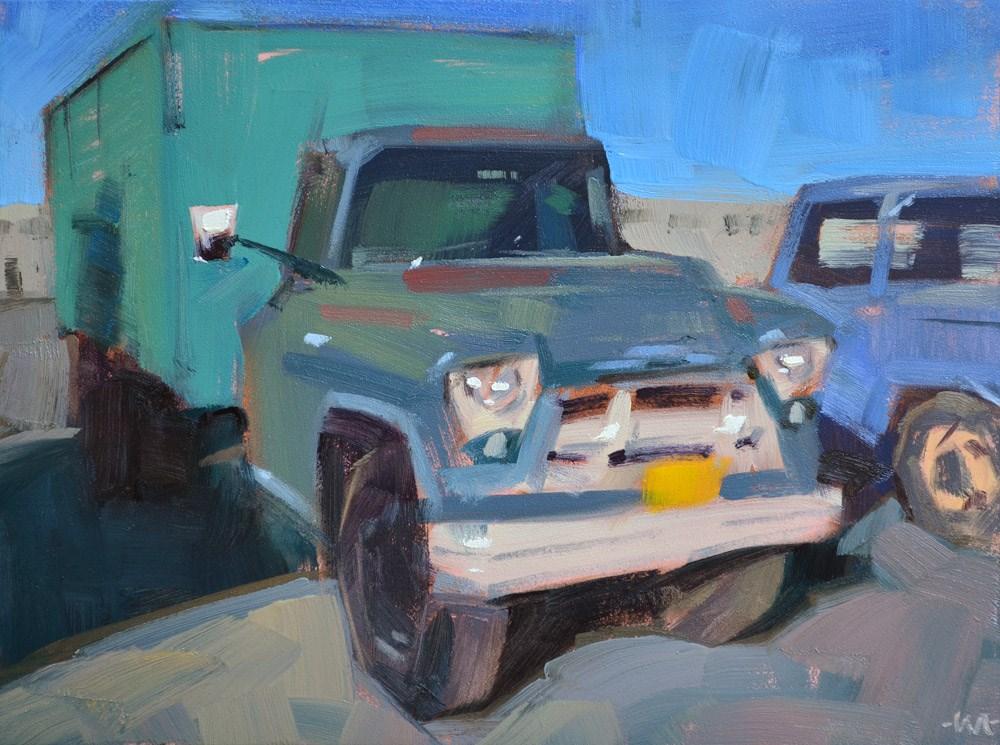 """Yellow Plate"" original fine art by Carol Marine"