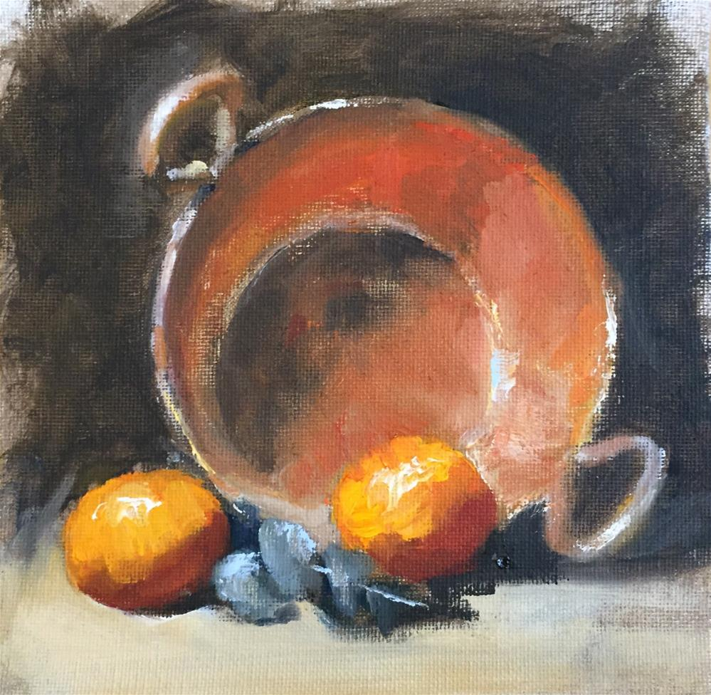 """Copper Pot"" original fine art by David Wesselman"