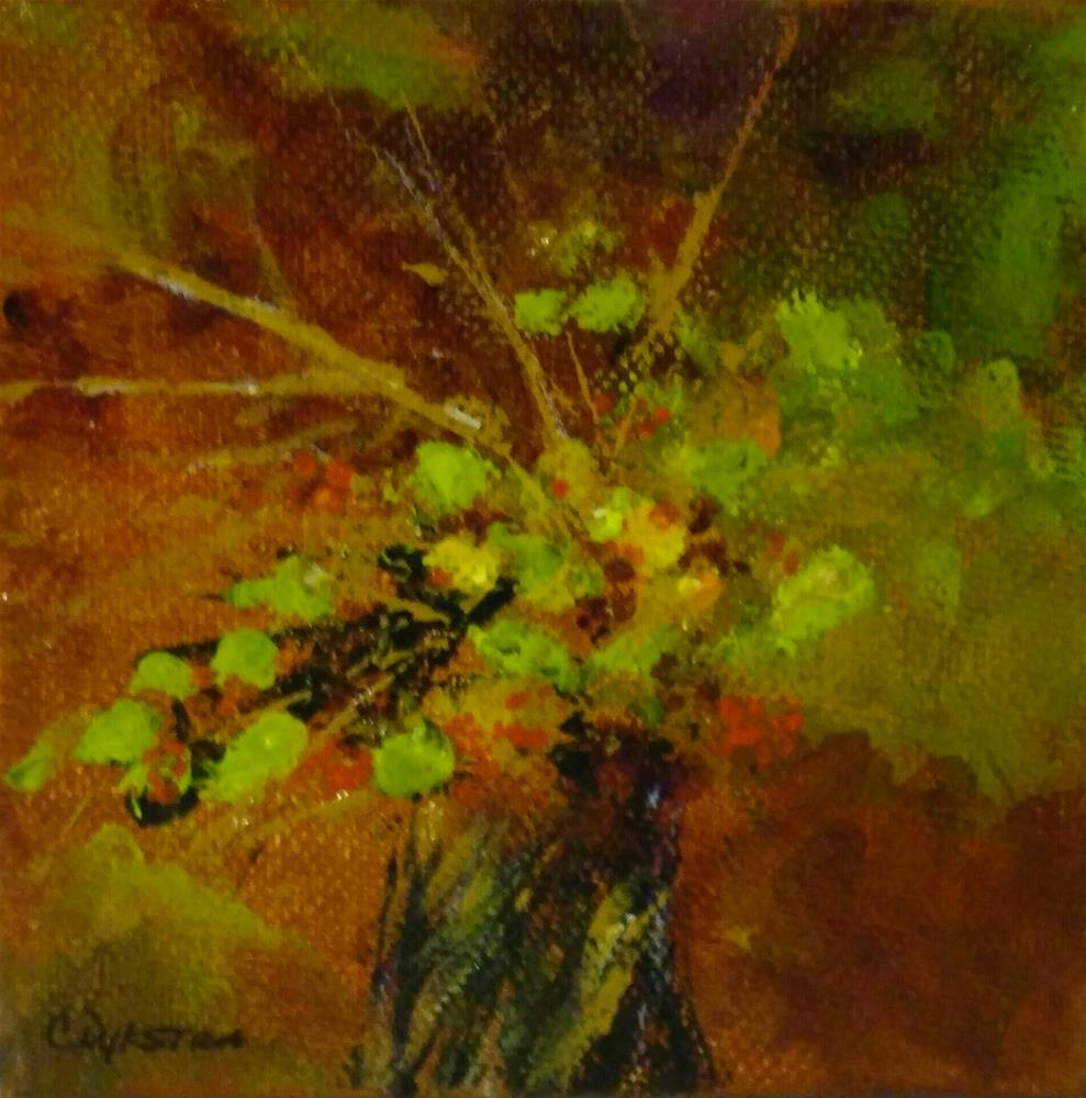"""Fall Bouquet #1"" original fine art by Cathy Dykstra"