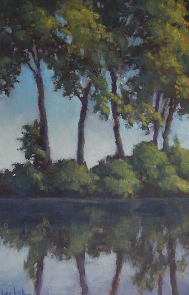 """Reflections"" original fine art by Lisa Kyle"