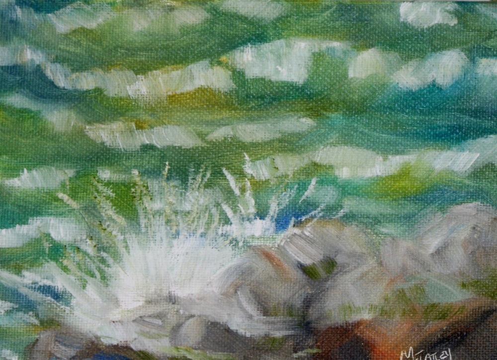 """Seeing double challenge"" original fine art by Maggie Flatley"