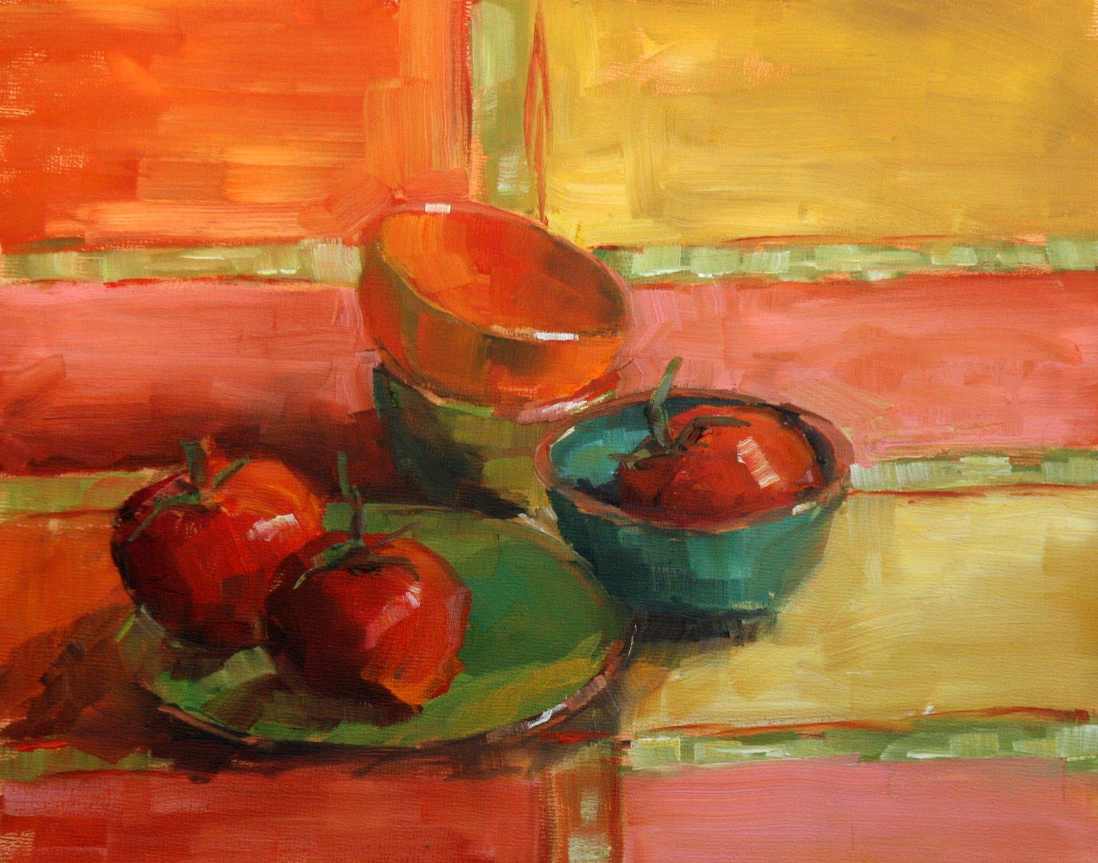 """fiesta"" original fine art by Carol Carmichael"