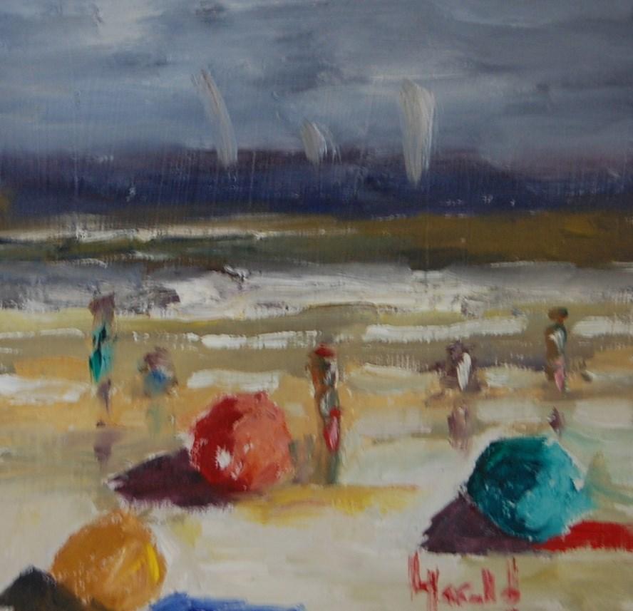 """Beach Baubles"" original fine art by Deborah Harold"