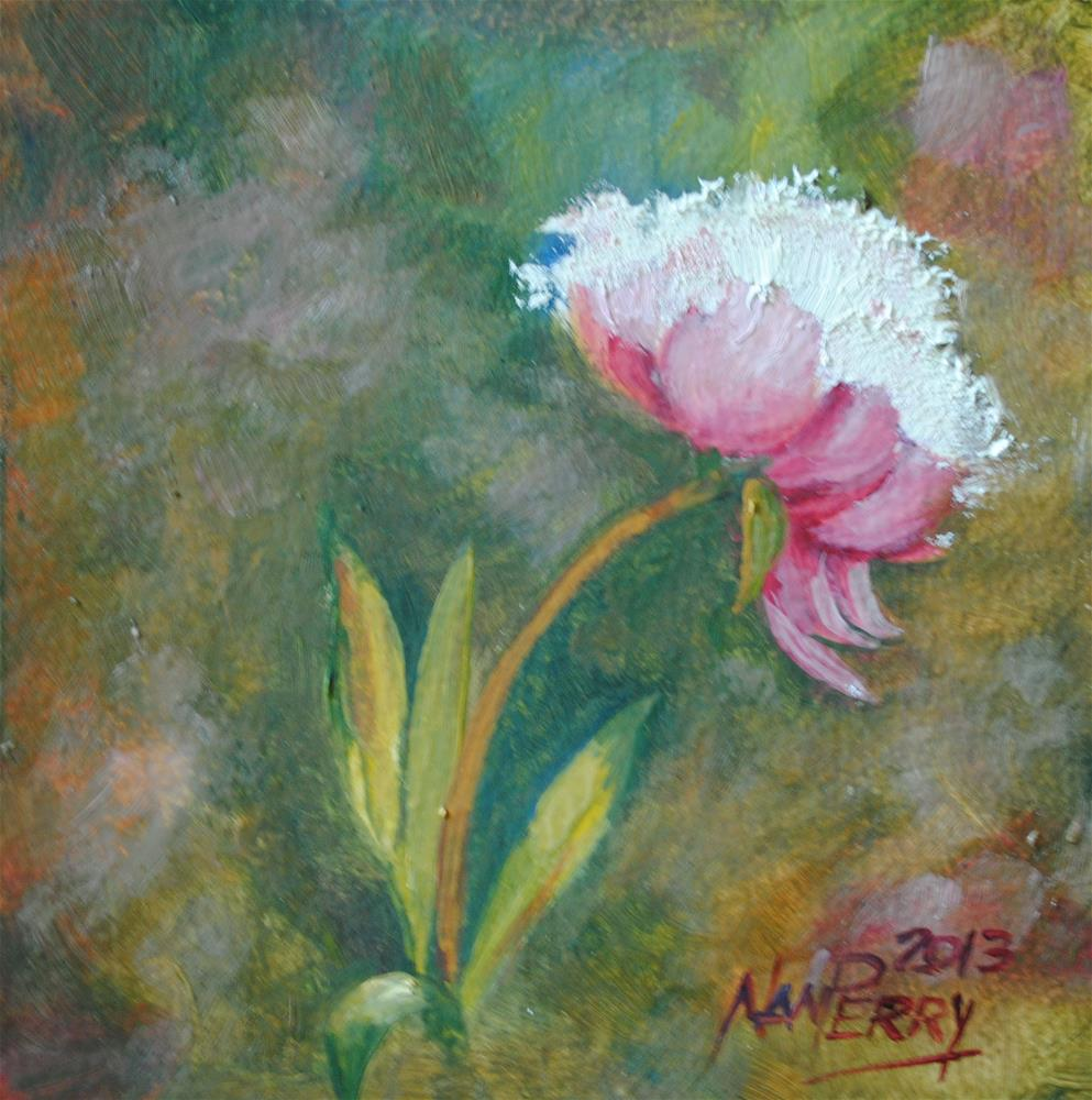 """Shades of Pink"" original fine art by Nan Perry"