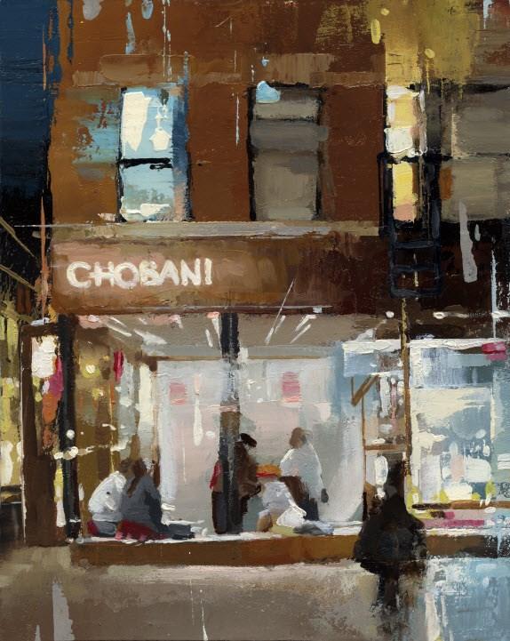 """Chobani-II "" original fine art by Victor Bauer"