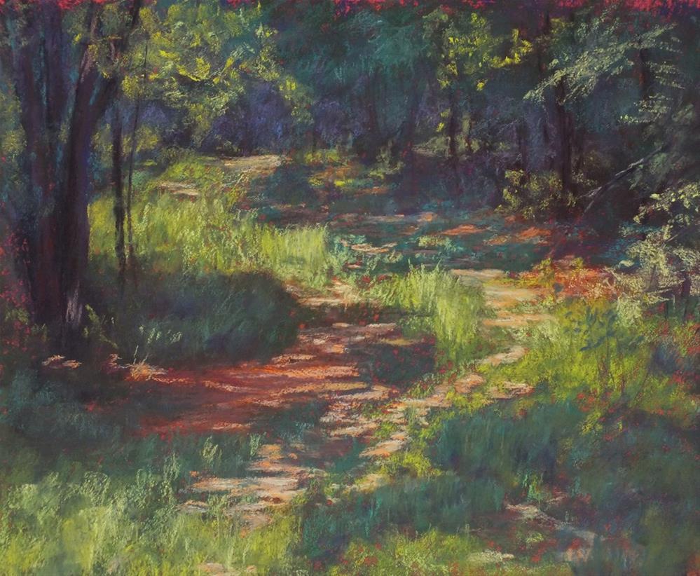 """To Willard Farm"" original fine art by Linee Baird"