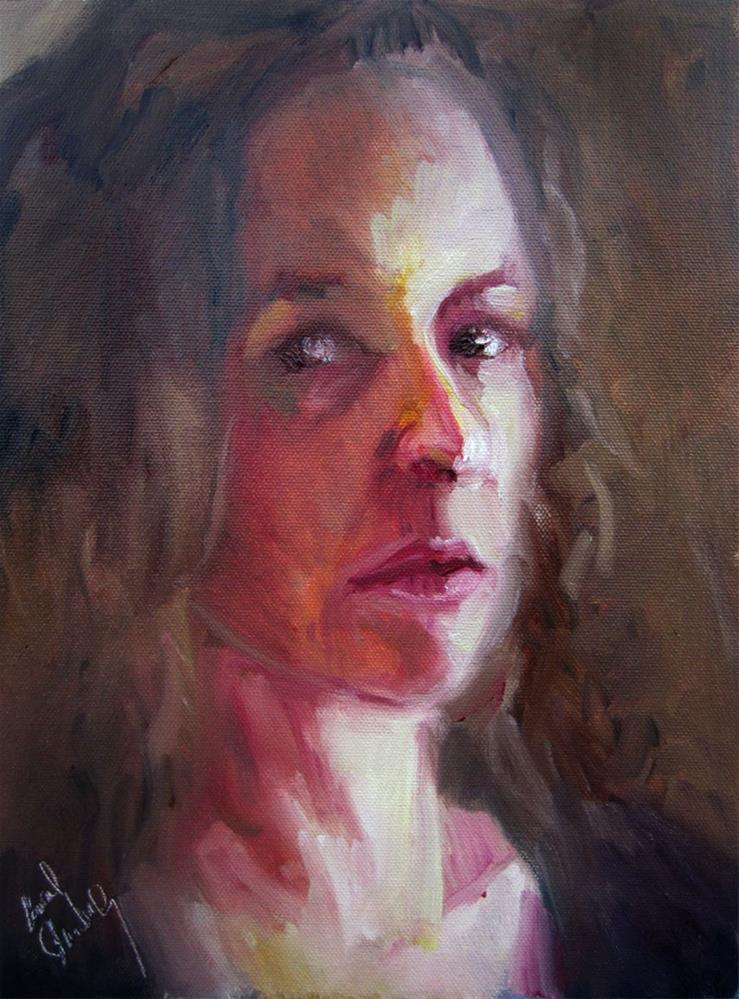"""Self Portrait 3, January 2016"" original fine art by Carol Steinberg"