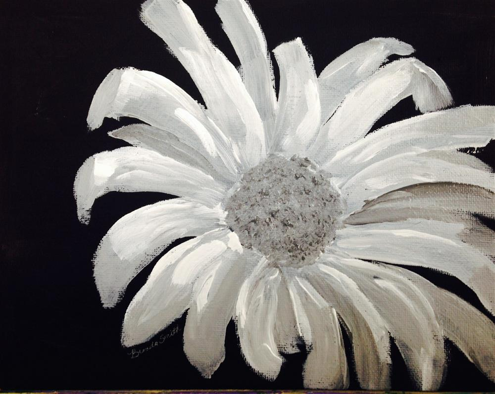 """Toned Daisy"" original fine art by Brenda Smith"