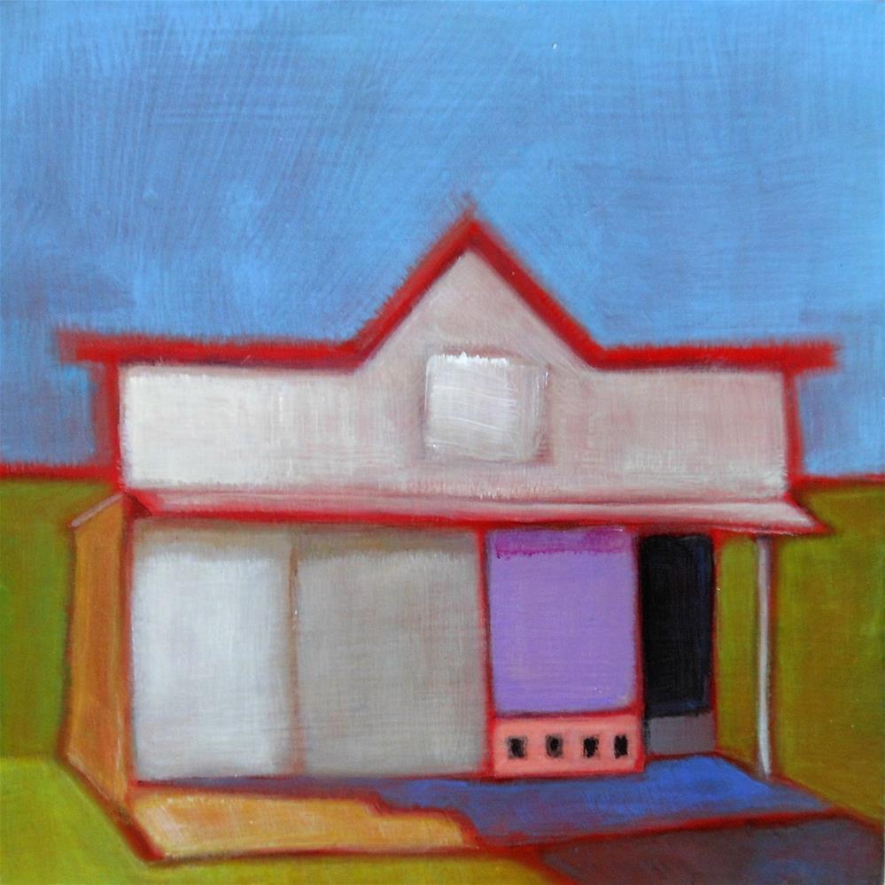 """""""Mercantile"""" original fine art by Almira Hill Grammer"""