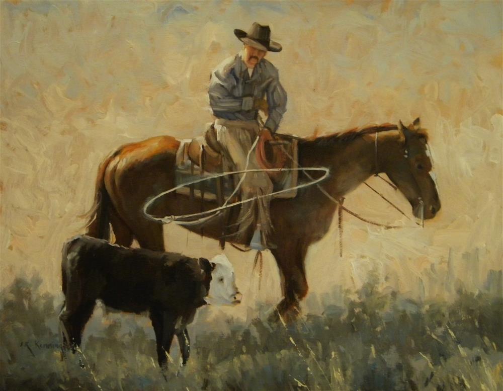 """""""The Rogue"""" original fine art by Rick Kennington"""