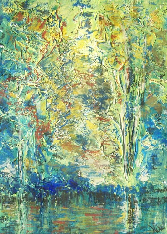 """""""Shimmer"""" original fine art by Niki Hilsabeck"""