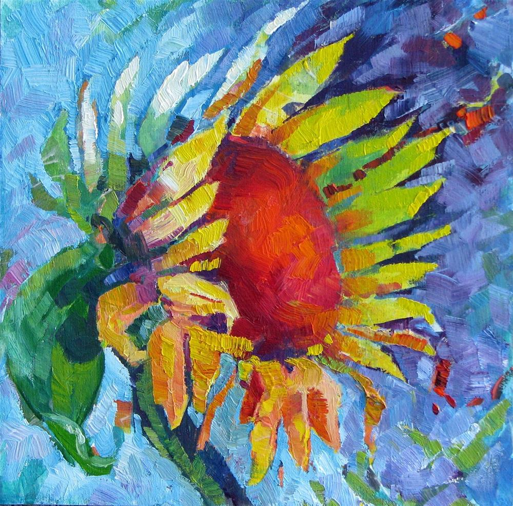 """Summer's Flower"" original fine art by Laura Gable"