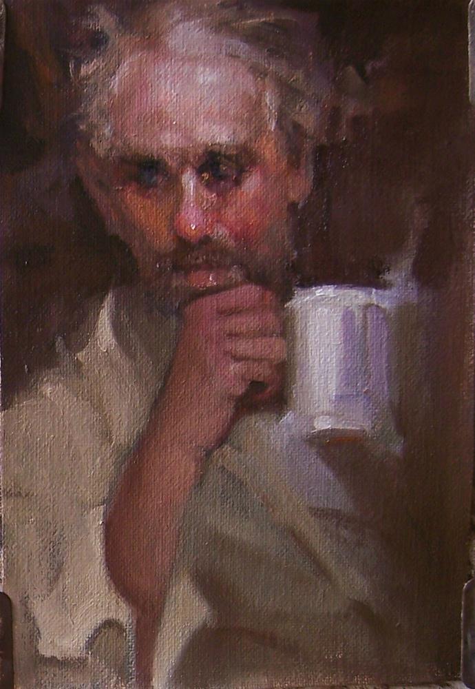 """Mug Shot"" original fine art by Kim Roberti"
