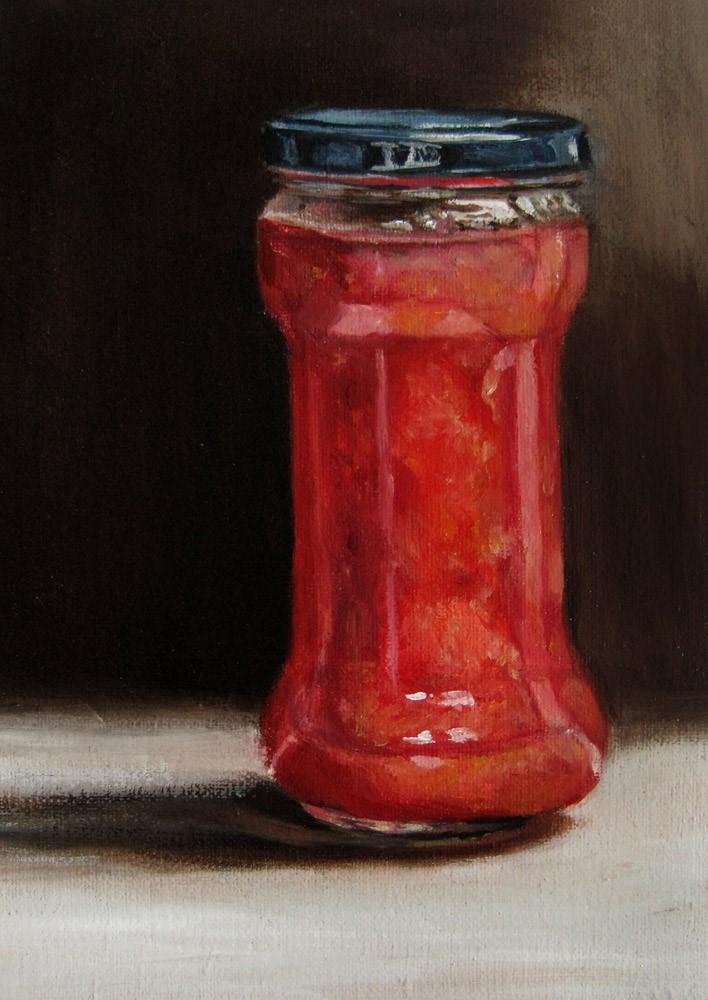 """""""Marmalade"""" original fine art by Ulrike Miesen-Schuermann"""