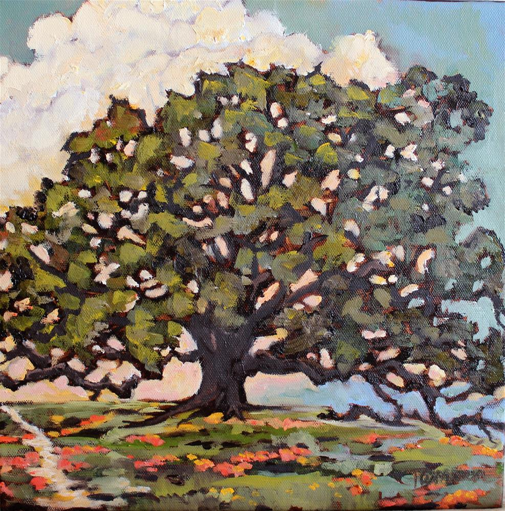 """Valley Oak"" original fine art by Tamsen Armstrong"