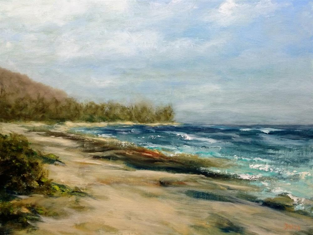 """North Shore Oahu"" original fine art by Dalan Wells"