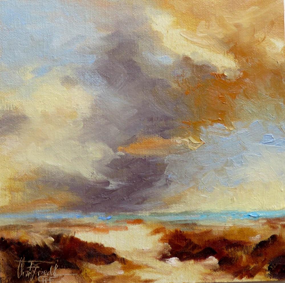 """""""Cloud Study III"""" original fine art by Christa Friedl"""