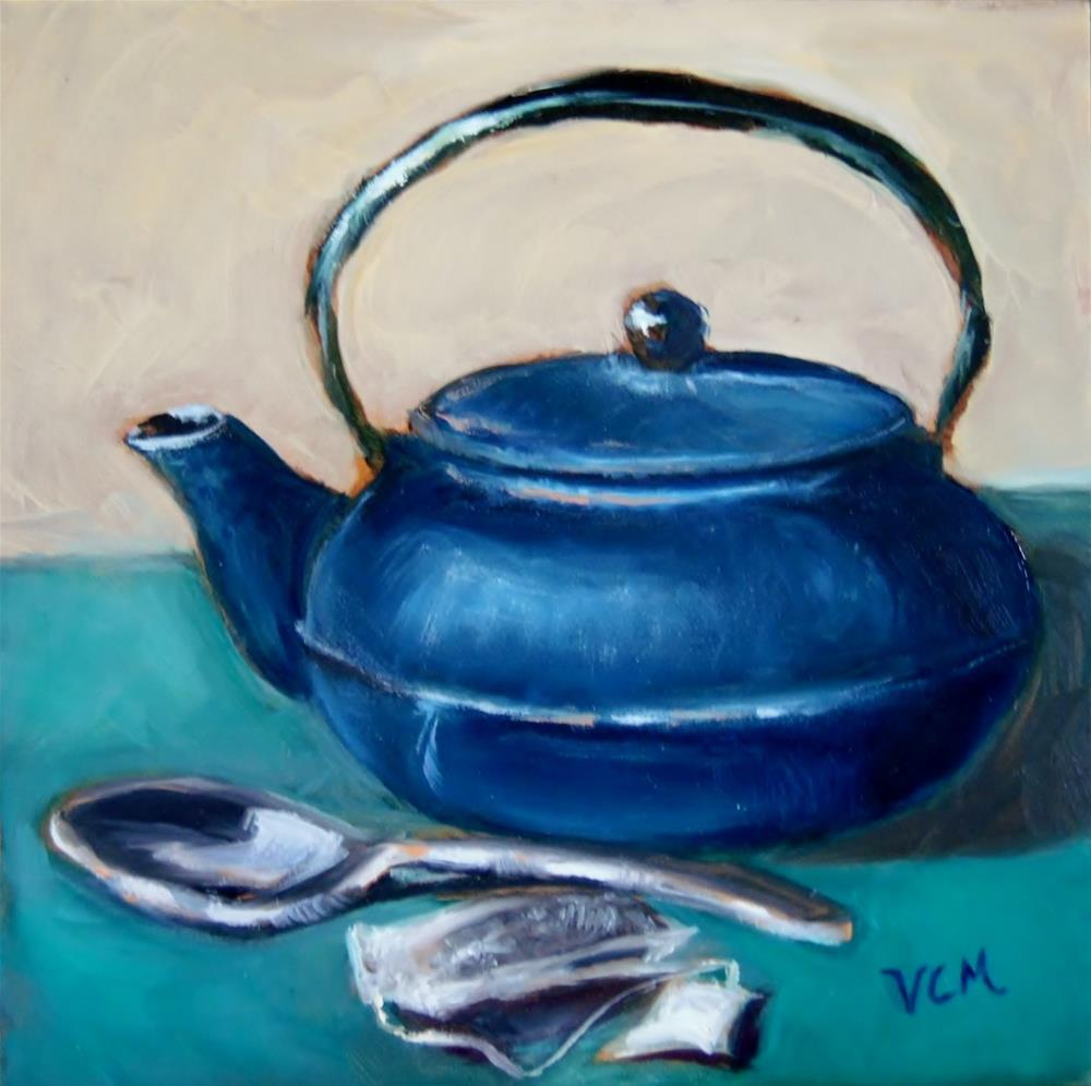 """Teaware"" original fine art by Vana Meyers"