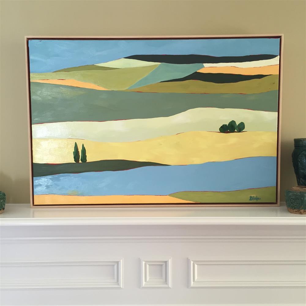 """""""Golden Hills"""" original fine art by Janet Bludau"""