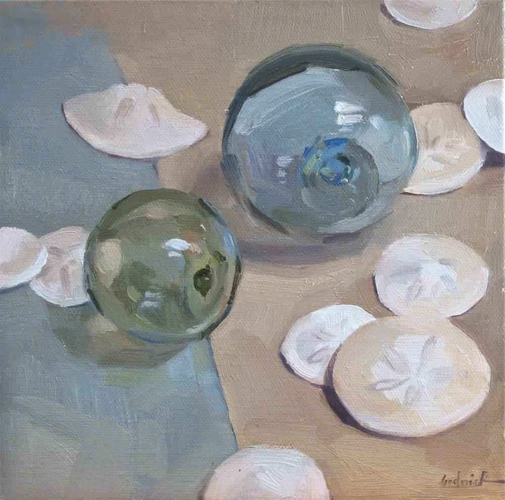 """Beachy Still Life"" original fine art by Sarah Sedwick"